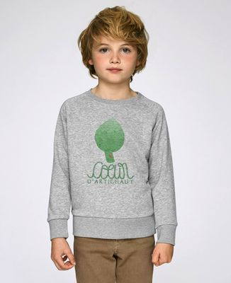 Sweatshirt enfant Coeur d'artichaut