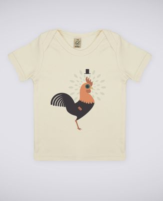 T-Shirt bébé Coq
