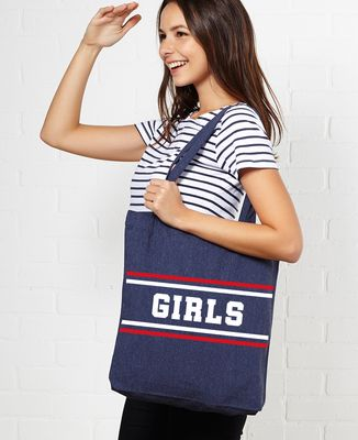 Tote bag Girls