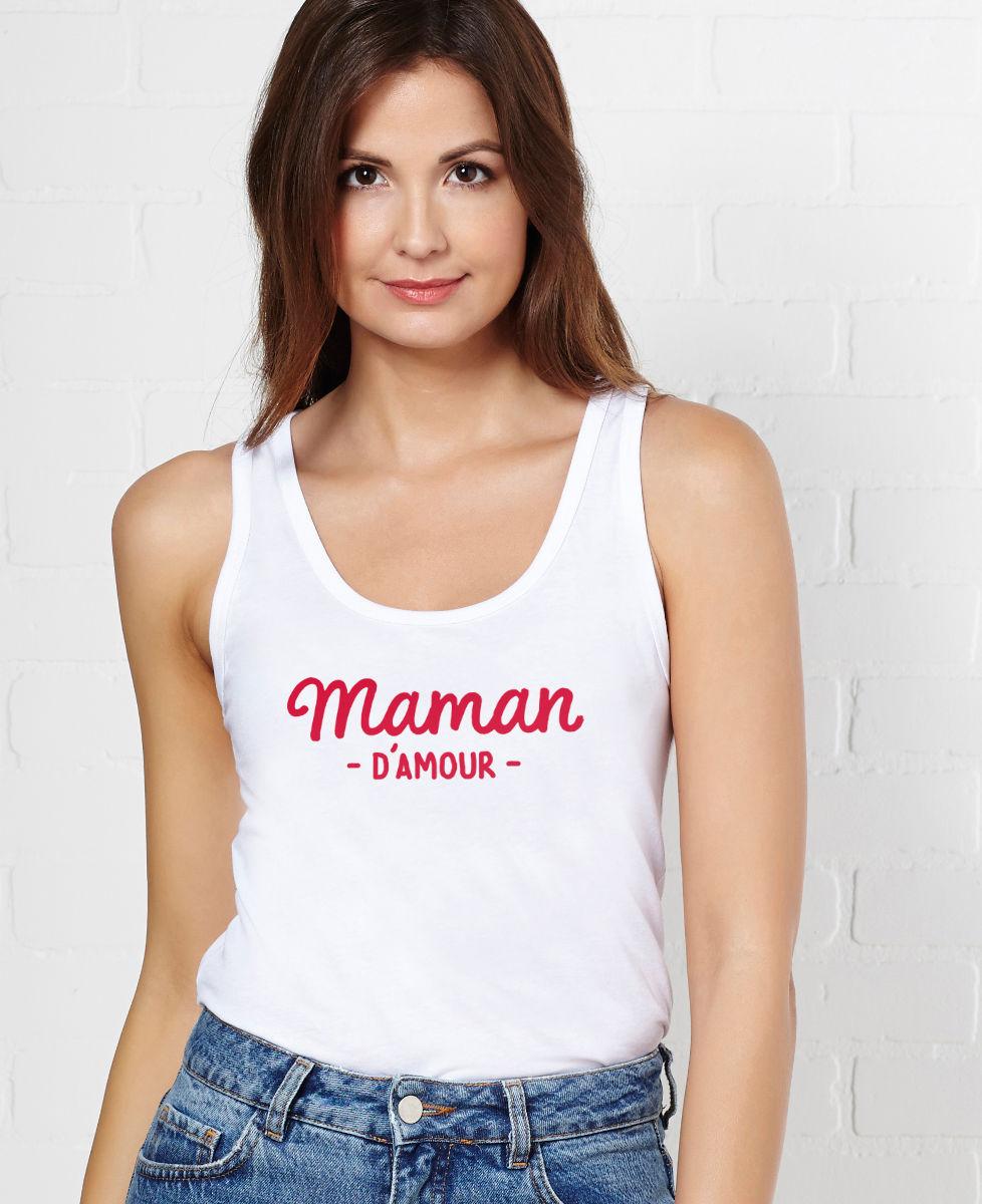 Débardeur femme Maman d'amour