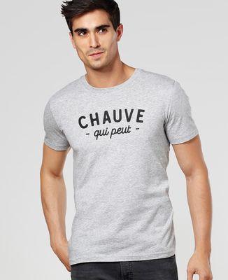 T-Shirt homme Chauve qui peut
