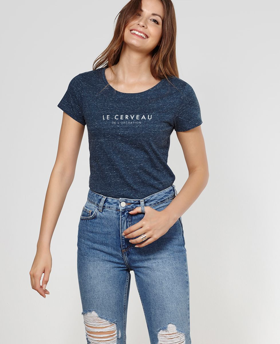 T-Shirt femme Le cerveau