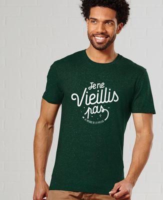 T-Shirt homme Je ne vieillis pas