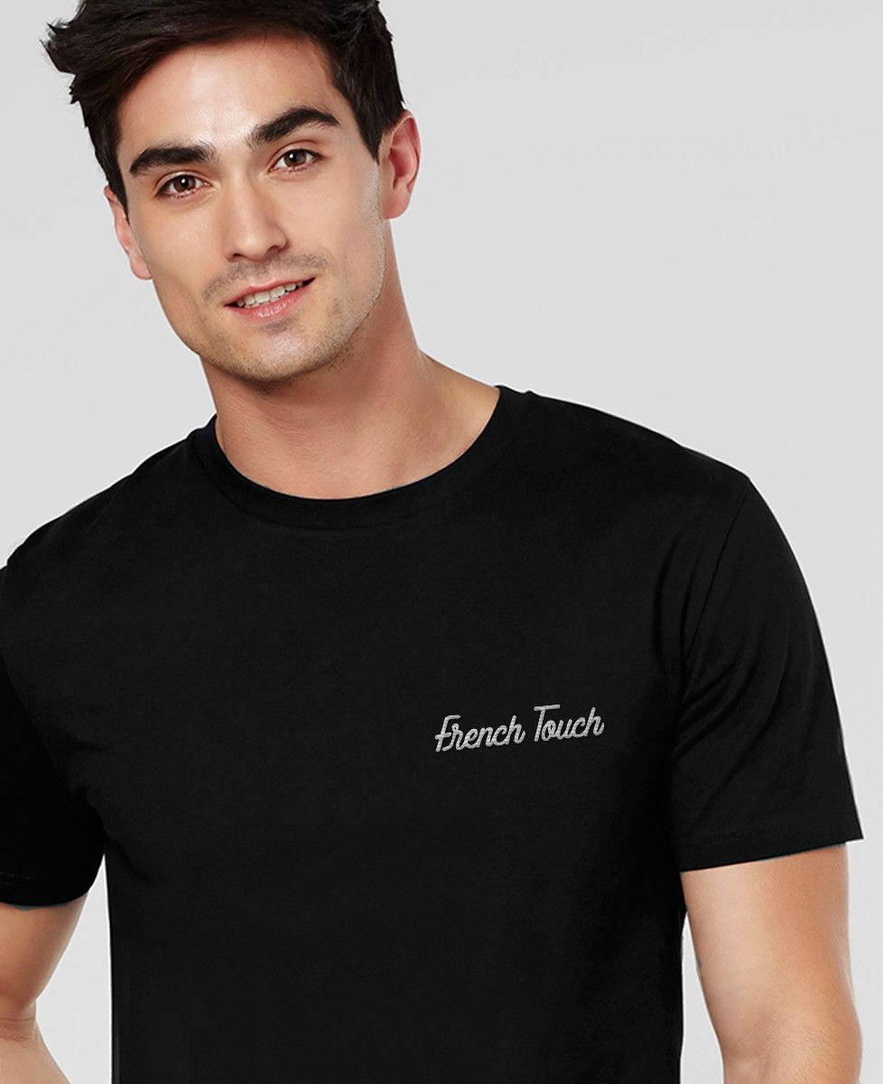 T-Shirt homme French Touch brodé
