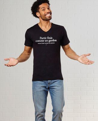 T-Shirt homme Partir frais