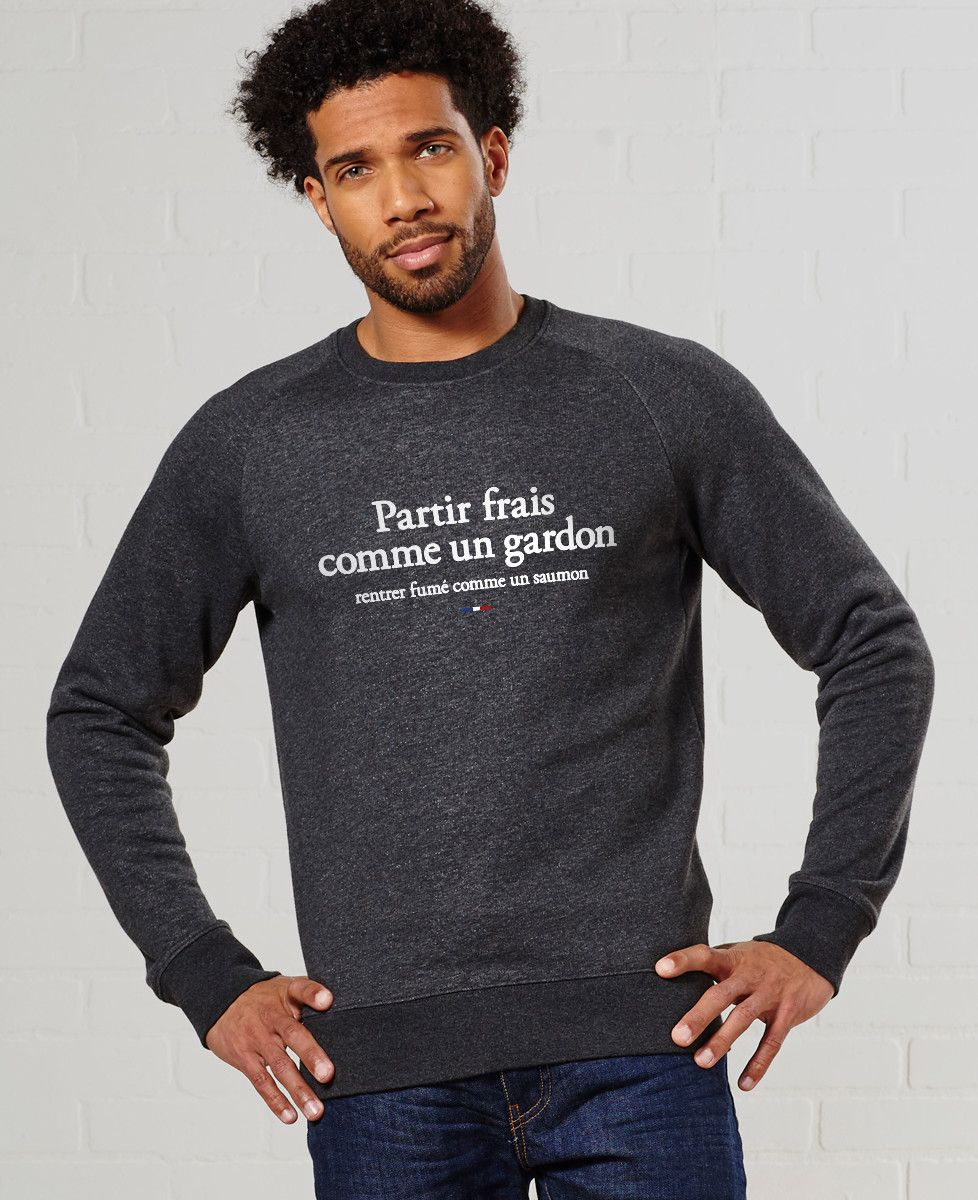 Sweatshirt homme Partir frais