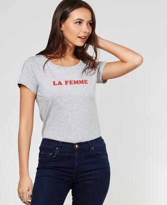 T-Shirt femme La femme