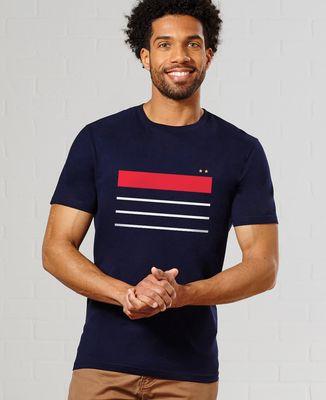 T-Shirt homme France deux étoiles