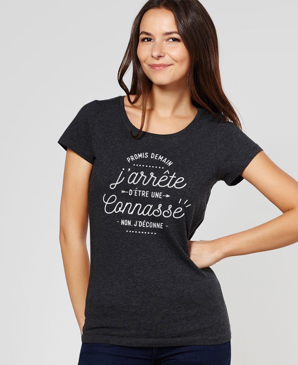 T-Shirt femme Promis demain
