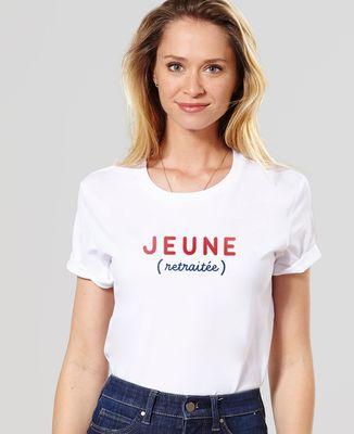 T-Shirt femme Jeune retraitée