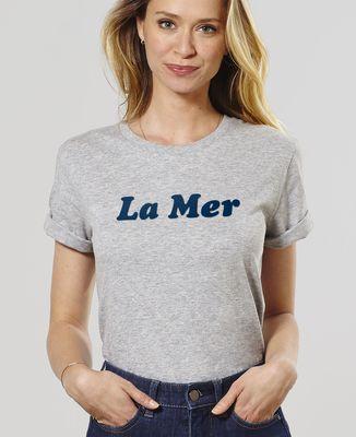 T-Shirt femme La Mer (effet velours)