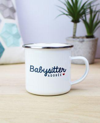 Mug Babysitter adorée