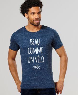 T-Shirt homme Beau comme un vélo