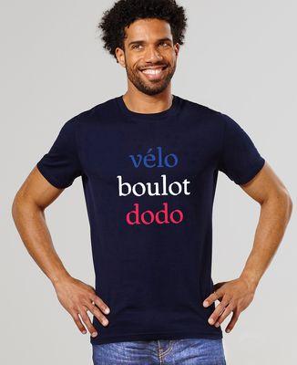 T-Shirt homme Vélo boulot dodo