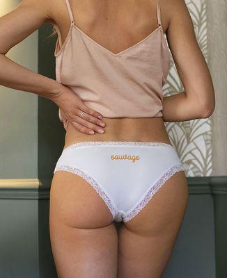 Culotte Sauvage (brodé à l'arrière)