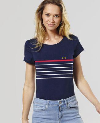 T-Shirt femme Deux étoiles à la française