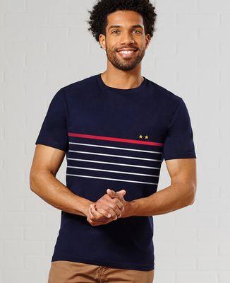 T-Shirt homme Deux étoiles à la française