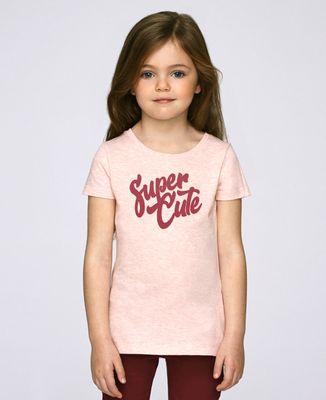 T-Shirt enfant Super Cute (effet velours)