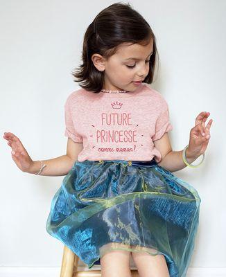 T-Shirt enfant Future princesse