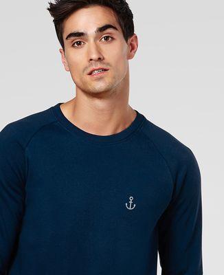 Sweatshirt homme Petite Ancre (brodé)
