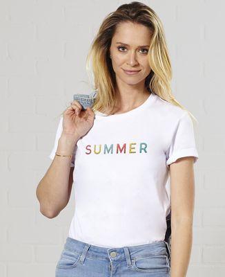 T-Shirt femme Summer (brodé)