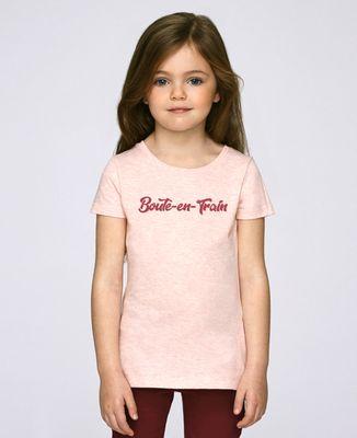 T-Shirt enfant Boute-en-Train (Effet velours)