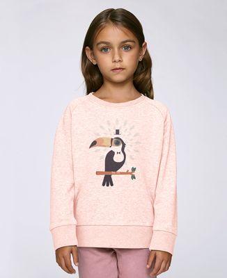 Sweatshirt enfant Toucan magicien