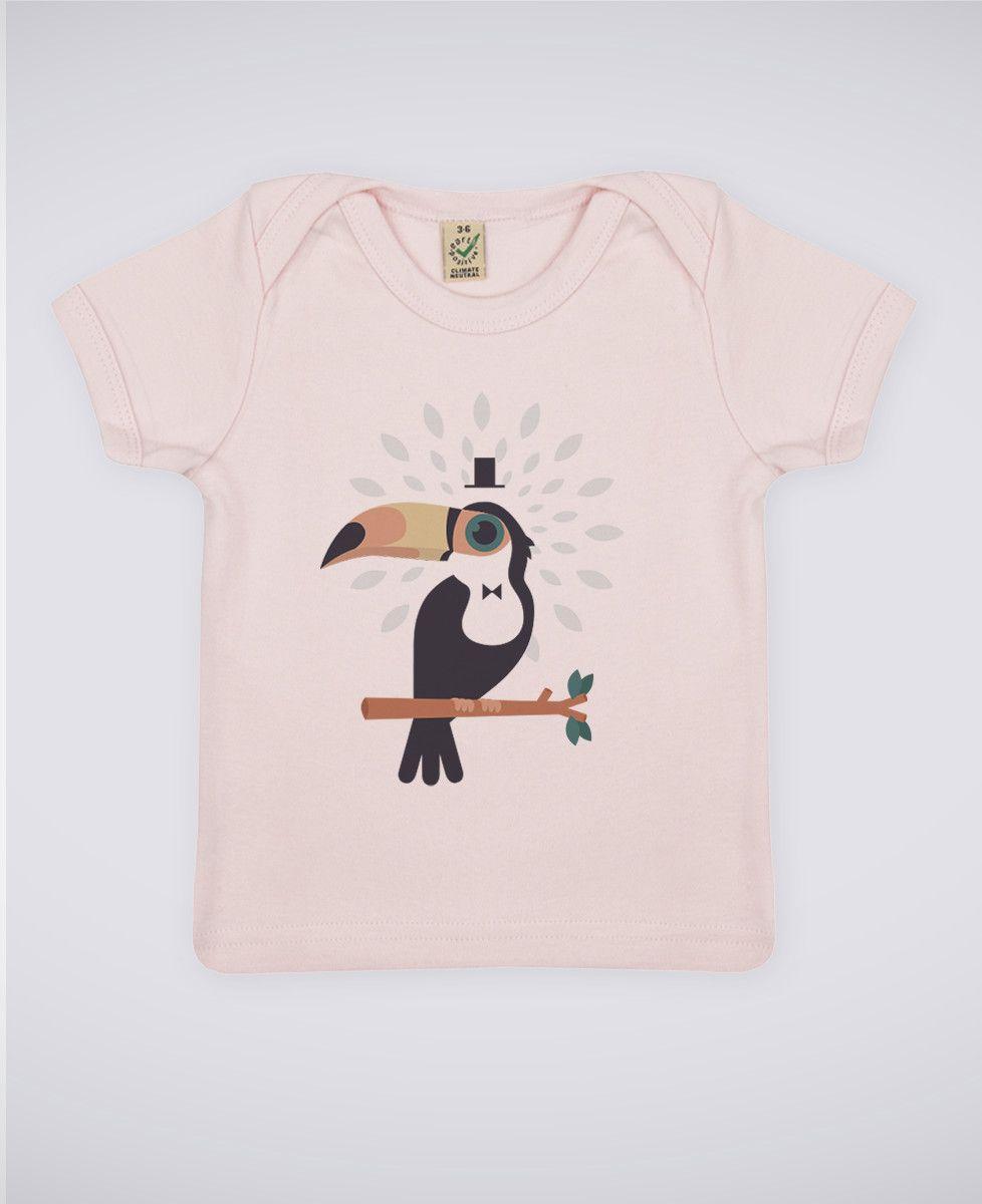 T-Shirt bébé Toucan magicien
