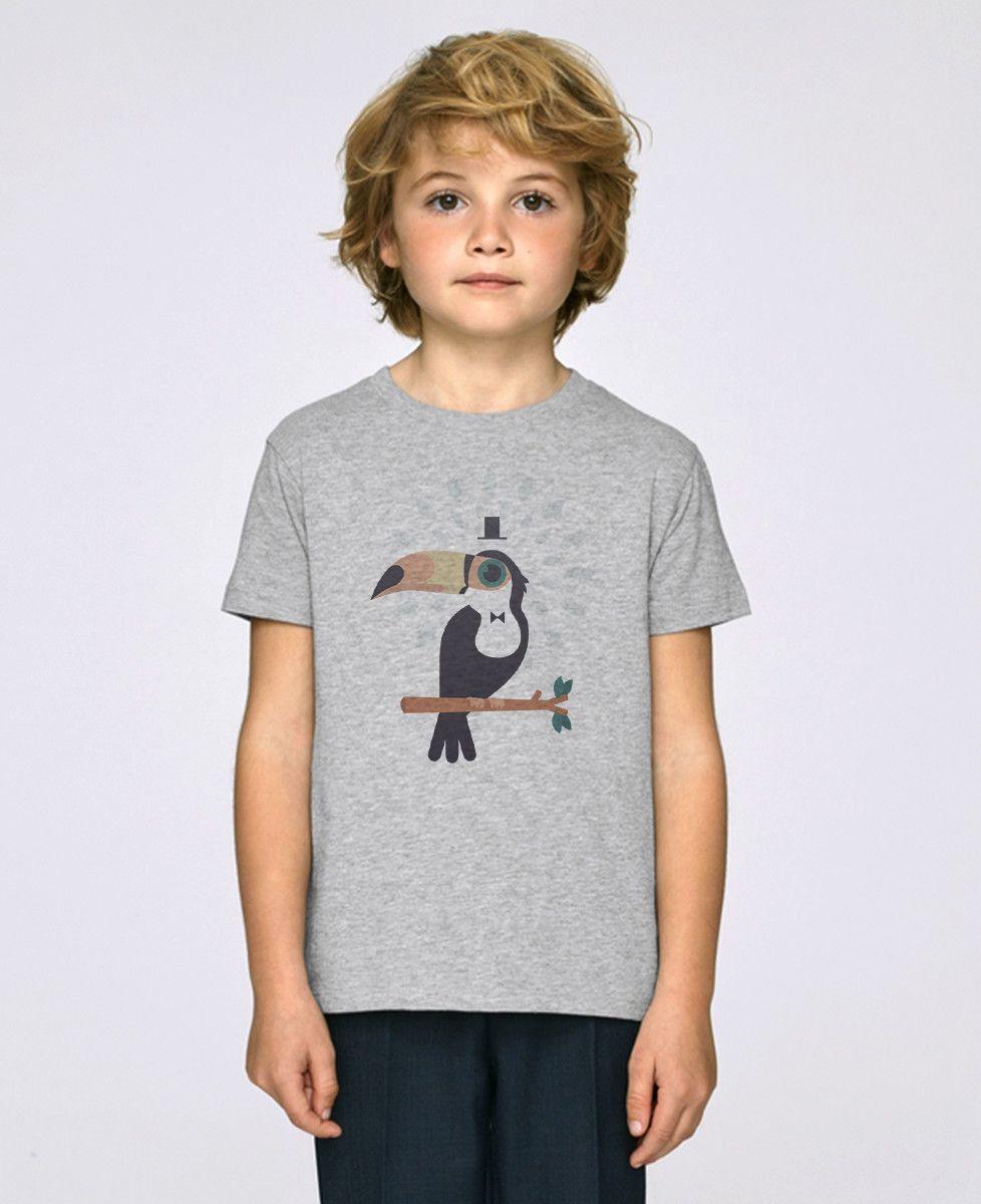 T-Shirt enfant Toucan magicien