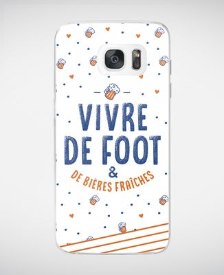 Coque smartphone Vivre de foot