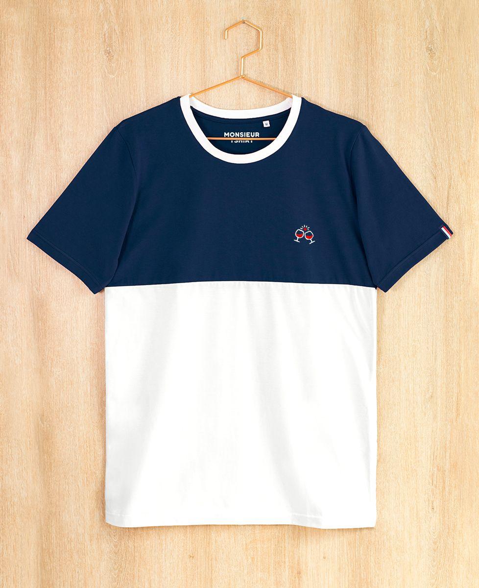 T-Shirt homme Tchin tchin (brodé)