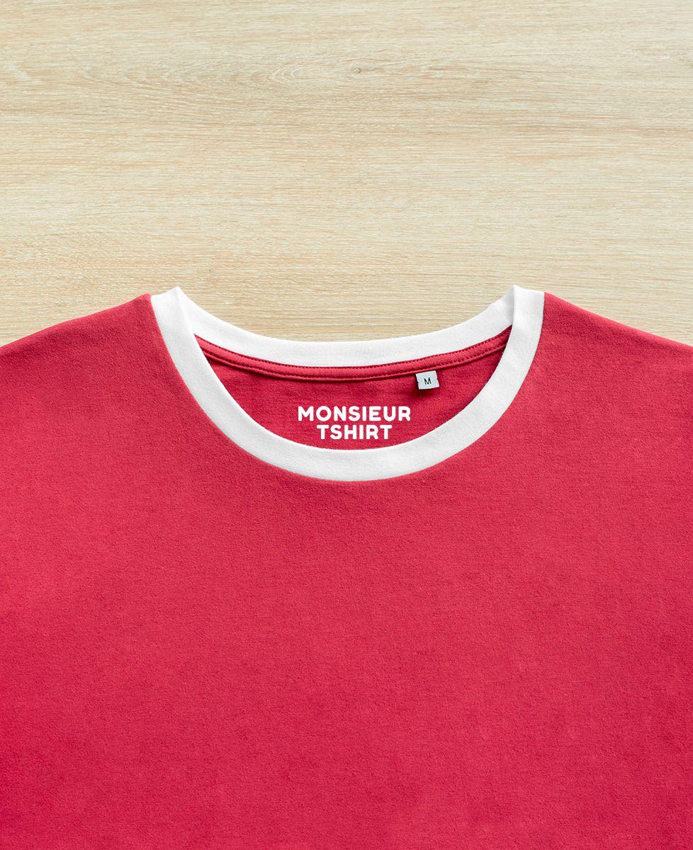 T-Shirt homme Fantôme jeux vidéo (Brodé)