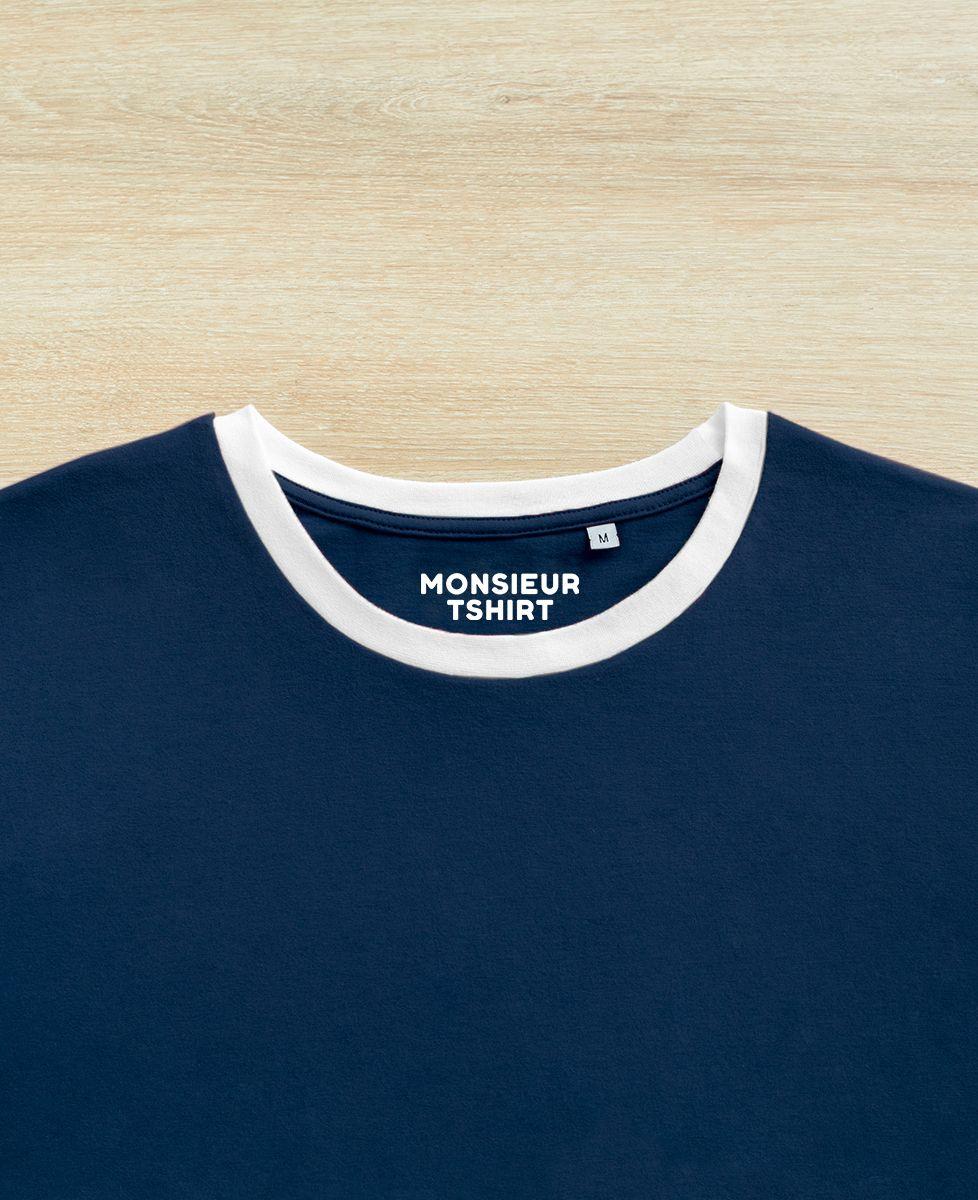 T-Shirt homme Coeur (brodé)
