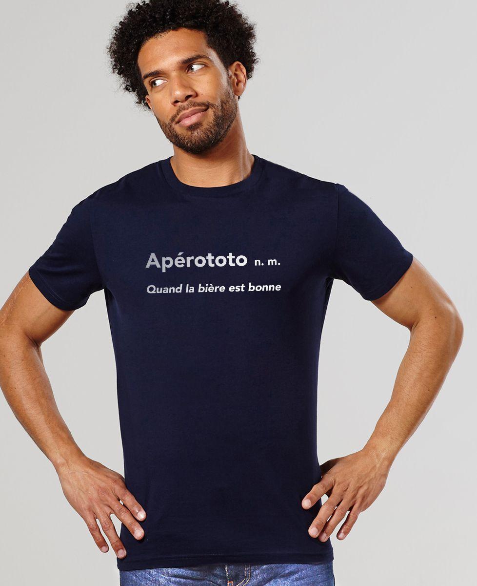 T-Shirt homme Apérototo