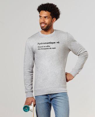 Sweatshirt homme Apéromantique