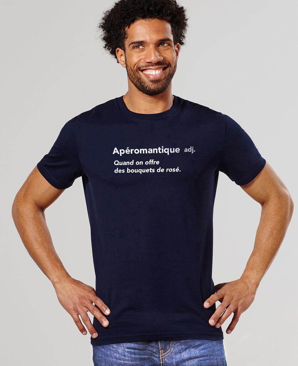 T-Shirt homme Apéromantique