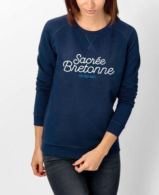 Sweatshirt femme Sacrée bretonne