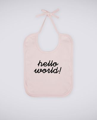 Bavoir Hello World