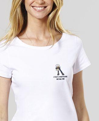 T-Shirt femme C'est l'histoire de ma vie