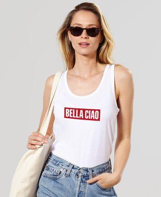 Débardeur femme Bella Ciao (effet velours)