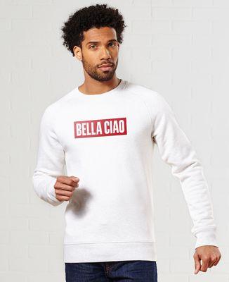 Sweatshirt homme Bella Ciao (effet velours)