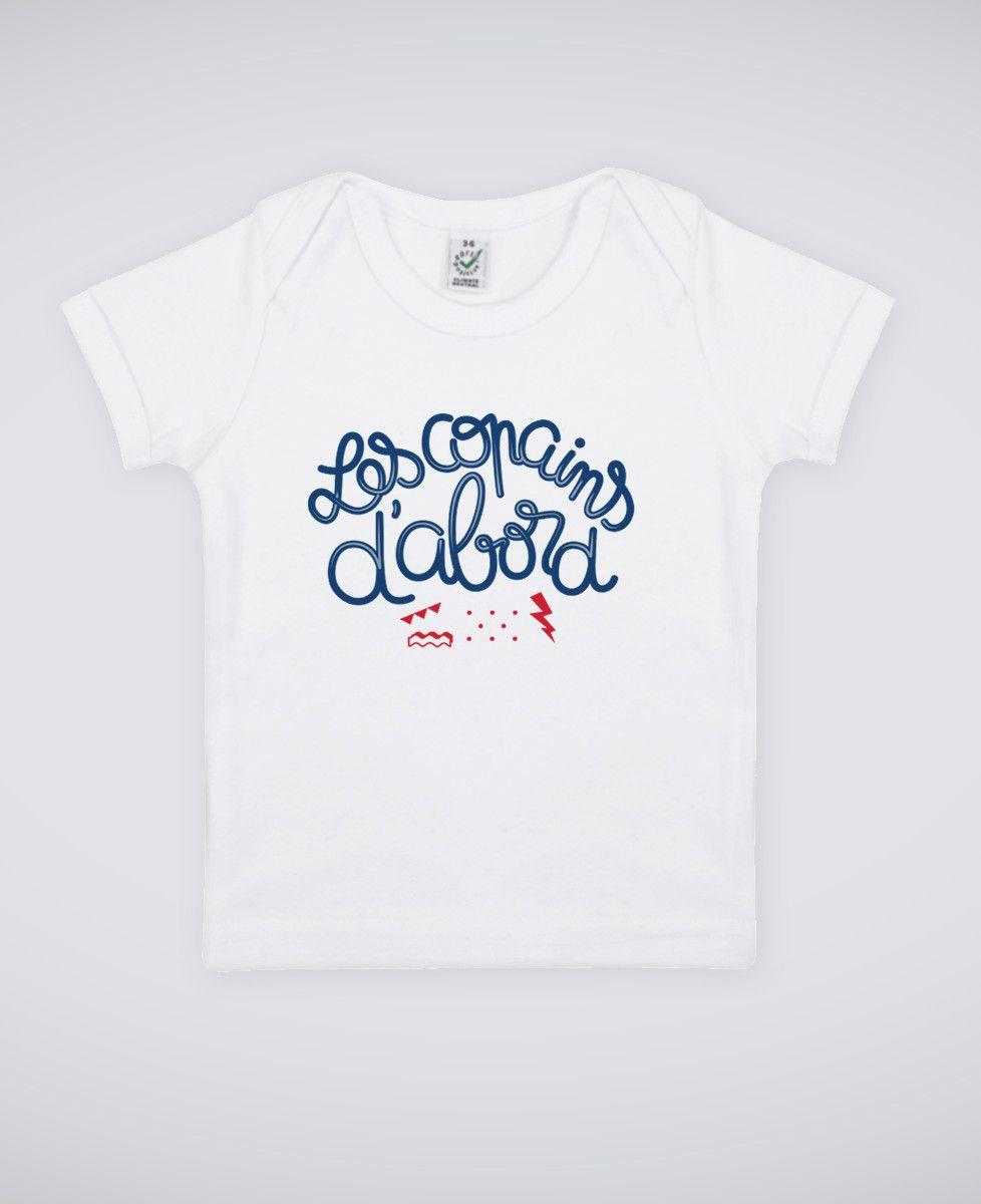 T-Shirt bébé Les copains d'abord