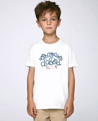 T-Shirt enfant Les copains d'abord