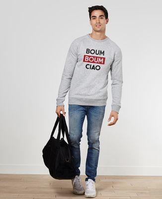 Sweatshirt homme Boum Boum Ciao
