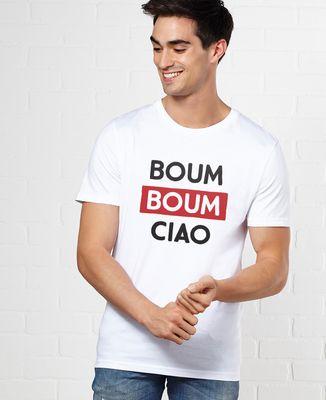 T-Shirt homme Boum Boum Ciao