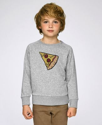 Sweatshirt enfant Pizza Duo