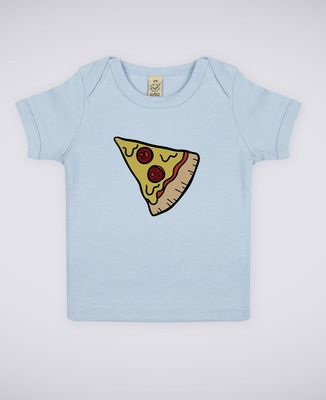 T-Shirt bébé Pizza Duo