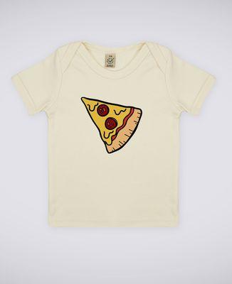 T-Shirt bébé Pizza Duo
