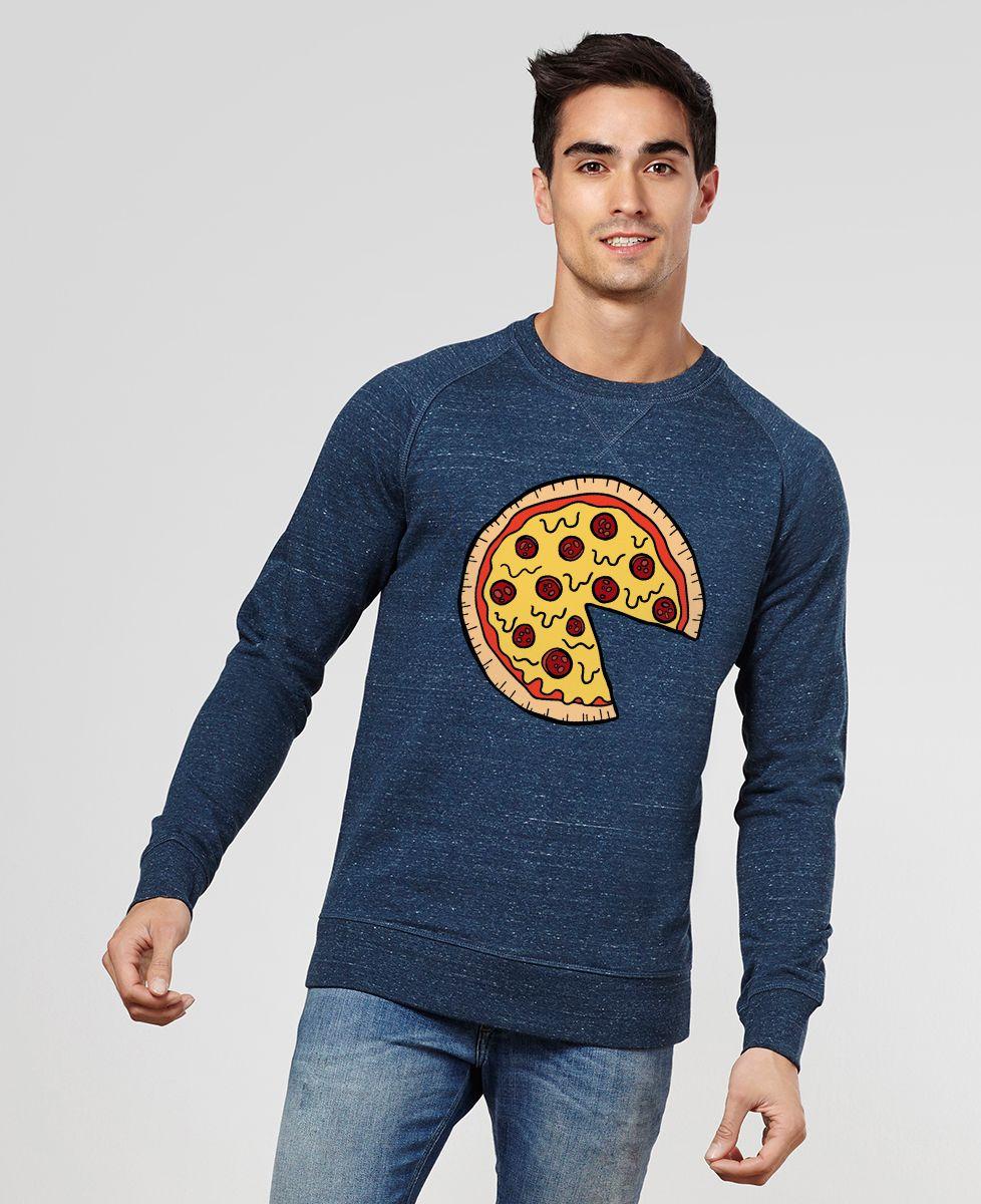 Sweatshirt homme Pizza Duo