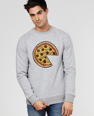 Sweatshirt homme Pizza Duo